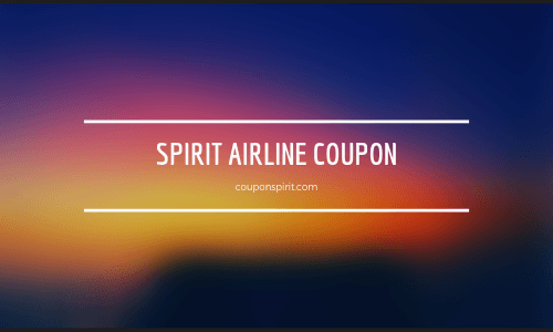 Spirit Airlines Coupon | Spirit Deals |