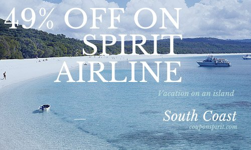 Spirit Airline coupon