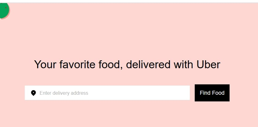 UberEats food delivery-min