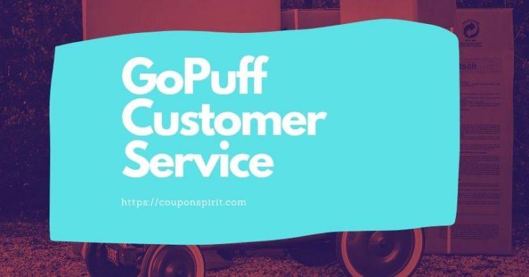 GoPuff Customer Service Support