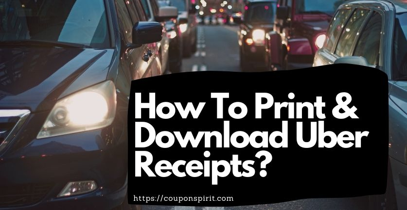 How To Download Uber Receipt?