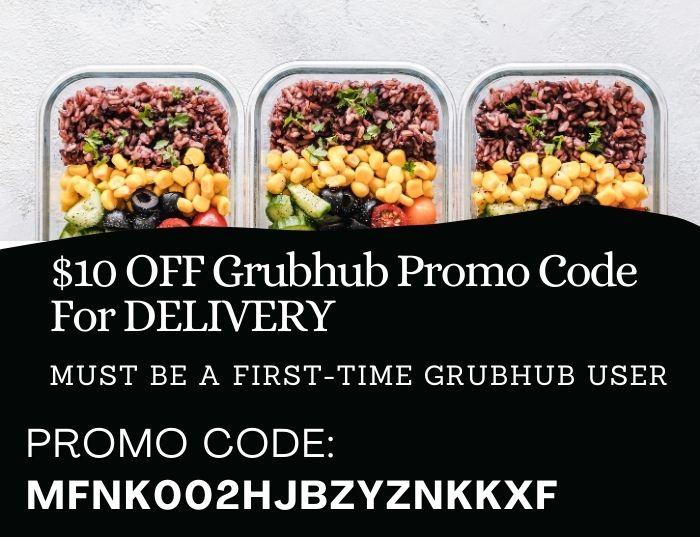 10 Off Best Grubhub Promo Codes That Work Couponspirit
