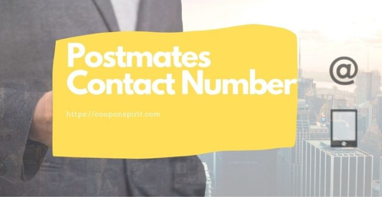 4 Ways To Get Postmates Contact Number