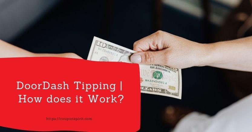 Doordash tipping